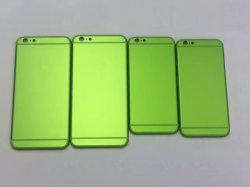 Capot arrière du téléphone mobile le logement du corps pour l'iPhone 6S Plus 4,7 5,5 couleur verte