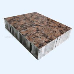 Revestimento de PVDF alumínio alveolado Painéis Compostos com 15 anos de garantia 3003 Ligas de alumínio alveolado chapas para a decoração de paredes exteriores