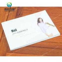 Softcover vestido de papel de arte impresión de libros / Folleto