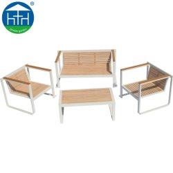 La pintura de madera antigua muebles de exterior de aluminio de diseño sofá