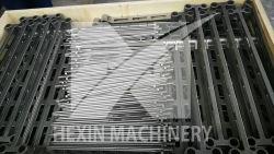 Bandeja de base de acero fundido resistente al calor para horno de tratamiento térmico Hx61023