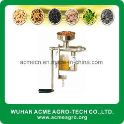 Pressa di olio manuale dell'arachide del sesamo del rifornimento delle azione della fabbrica mini e del seme delle noci