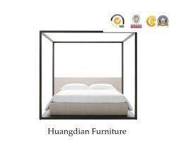 سرير ذو غطاء سرير مكون من أربعة أفراد لغرف نوم فندق المنتجع (HD975)