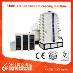 Macchina di rivestimento dello strato PVD dell'acciaio inossidabile di alta qualità/macchina della metallizzazione sotto vuoto di formato PVD del tubo acciaio inossidabile grande/strato colorato dell'acciaio inossidabile