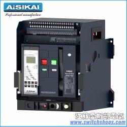 Ce/CCC/ISO9001のAcb 3200A 3poleの情報処理機能をもったタイプユニバーサル回路ブレーカ