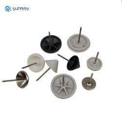 EAS Metal pasador de seguridad de la etiqueta de disco duro magnético polo