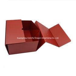 Custom pliable pliable paquet cadeau des vêtements d'emballage Boîte avec magnétiques