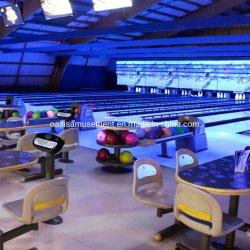 Equipamento de bowling, nova pista de bowling com a instalação