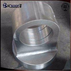 Aço personalizados/ligas de aço forjado/cilindro hidráulico forjadas parte/peça de aço com usinagem na China