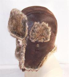 Tappo invernale in PU caldo con pelliccia (VT011)
