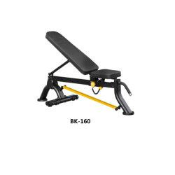 رخيصة سعر طي قابل للتعديل يجلس مدرّب بطنيّة فوق دمبل كرسي تثبيت دمبل مقادة [بك-160]