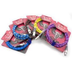 Ремонт ПВХ изолированный провод микрофона гибкий соединительный кабель AV