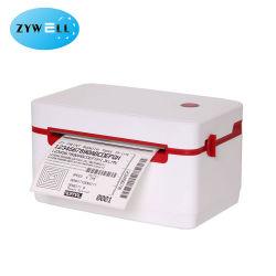 Stampante per ricevute di codici a barre Zywell 108mm 4inch 4X6 per etichette di spedizione termica Supporta FedEx UPS Amazon Ebay Lazada