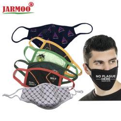 Moda lavável Pm2.5 Anti-Dust 3camadas reutilizáveis Máscaras faciais de algodão Máscara de boca Máscara de impressão (JMKZ)