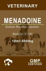 De ménadione injection Injection de vitamine K pour les médicaments vétérinaires