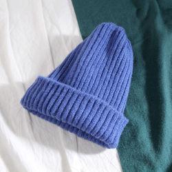Gestrickte Hut-Frauen-Marken-Qualitäts-Winter-Frauen-Kugel-Ski-Kaninchen-Pelz-HutPompoms strickten Hüte
