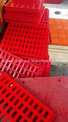 La remoción de la Subdivisión de poliuretano PU PU de malla de la pantalla de pantalla de poliuretano para la remoción de carbón trituradora de piedra