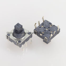 مفتاح متعدد الوظائف لمحول مكون الإمداد مفتاح يعمل باللمس خماسي الاتجاه التحكم الصناعي المعدات مفتاح الملحقات الرقمية