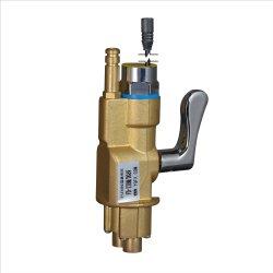 Mezclador de agua fría caliente 2 en 1 de la electroválvula de grifo