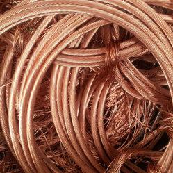 Fio de cobre sucata/ fio metálico com preço competitivo fabricados na China 99,9%MIN pureza 1,5mm-3mm