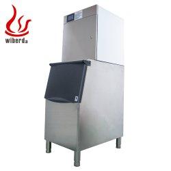 Wiberda Atacado novo Design controlo de Ecrã Táctil Aço inoxidável aço inoxidável Comercial Máquina de fazer cubo de gelo com CE