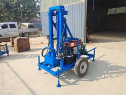 Diesel portátil Rock Taladradora Perforación pozo de agua