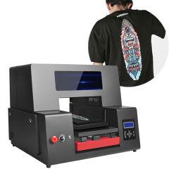De nieuwe PromotiePrinter van de Stof van de T-shirt met Software, de Draad van de Macht, Kabel van het Netwerk, de Hand