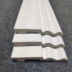 À prova de espuma branca Baseboard Parede Rodapé Rodapé protectores da placa em decoração de interiores