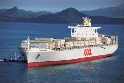 Verschepende Vracht, OceaanVracht van China aan Muscateldruif