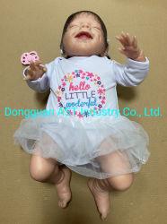"""スリープの状態であるリアルな生まれ変わる女の子のベビードール20の""""シリコーンのビニールの現実的な赤ん坊の新生のハンドメイドの人形のおもちゃは誕生日プレゼントをからかう"""