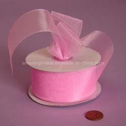 Qualitäts-Schimmer-blosses Organza-Farbband für das Weihnachtsverpacken (AM-OR008)