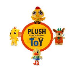 تصميم شعار Doll Mascot Enterprise بتصميم فاخر لعبة مخصصة إلى تدقيق الرسم