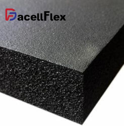 Aluminiumfolie-Dämmplatte elastomerer NBR Belüftung-Gummischaumgummi-anhaftendes Blatt-Band