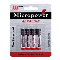 1,5 V LR03 AAA Aucune batterie rechargeable avec lecteur MP3