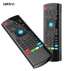 2.4 GHz 音声コントロールジャイロセンサエアマウス TV リモートコントロール Android TV Box PC TV の場合