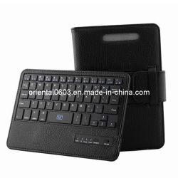 قابل للفصل [بلوتووث] لاسلكيّة لوحة مفاتيح مع جلد حالة لأنّ [غوغل] [نإكسوس] 7 ([أت-368])