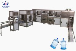 Füllmaschine des Wasser-300bph/5 Gallone Barrelled Wasser-füllende Zeile