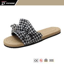 Las mujeres moda estilo más vendido en alpargata con una cómoda suela de zapatilla Dama Casual Exs-5371