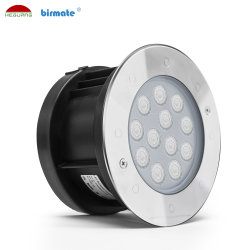 Décoration chaude Inground ronde d'éclairage LED 9W Outdoor feux souterrains