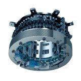 세탁기 부품서브마틱 단상 AC 전동 차량 유압 시동장치 12V DC 펌프는 외측 스쿠터 이중 모터를 사용합니다