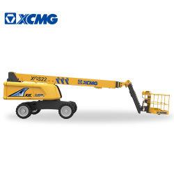 XCMG Elevador Telescópico oficial Mobile elevando la plataforma de trabajo Xgs22