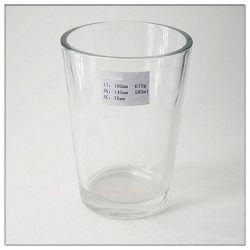 Kundenspezifischer dekorativer Glasvasen-Glaskerze-Halter für Geschenk