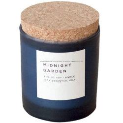 Vente en gros 100% Soy Scandle verre pot porte-verres Avec Cork Candle Factory