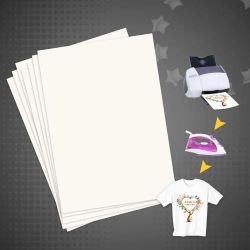 100 folhas por saco de tamanho A4 em papel por sublimação de Alta Taxa de transferência