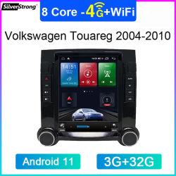 بالنسبة لشركة فولكس فاجن توريج 2003-2010 فولكس فاجن T5 2004-2010 ستريو تلقائي تيسلا راديو Android 11 128g نظام تحديد المواقع العالمي للسيارة ملاحة وحدة رأس سيارة 4G LTE