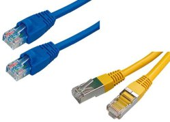 Cat5e/CAT6 Steckschnür-Netz-Kabel LAN-Kabel