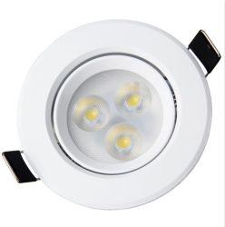 La luz de techo LED 3W 5W 7W 9W 12W luz tenue Home Hotel Showcase Spotlight integrado