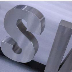 Alto grau Custom 3D Empresa Metal sinais de letra para a marca Logotipo da loja