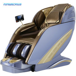 Ningdecrius Factory Wholesale Deluxe Zero Gravity Full Body Shiatsu Recliner Foot SPA Electric Office Capsule 4D Massage stoel