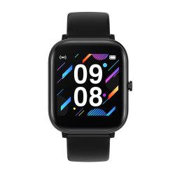 P10 Smart assistir 1,4 polegada toda a tela sensível ao toque da freqüência cardíaca Rastreador de fitness da Pressão Arterial Relógios Preto Smartwatch